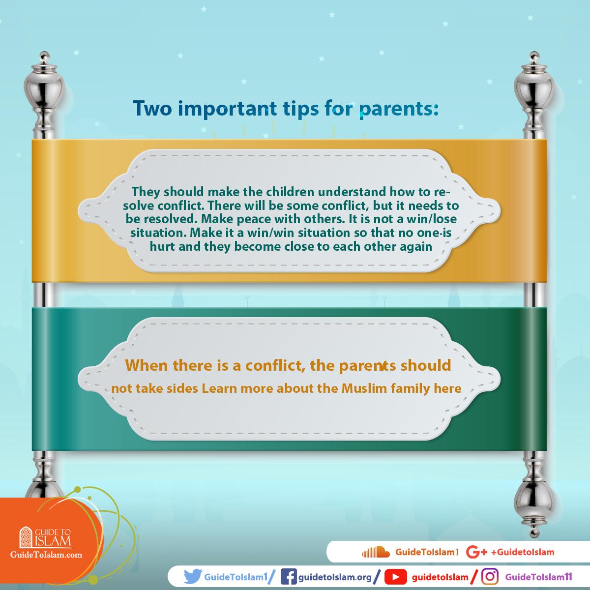Duas dicas importantes para os pais