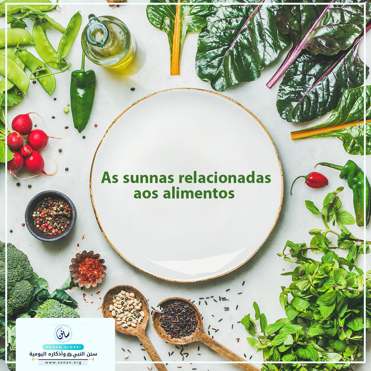 As sunnas relacionadas aos alimentos
