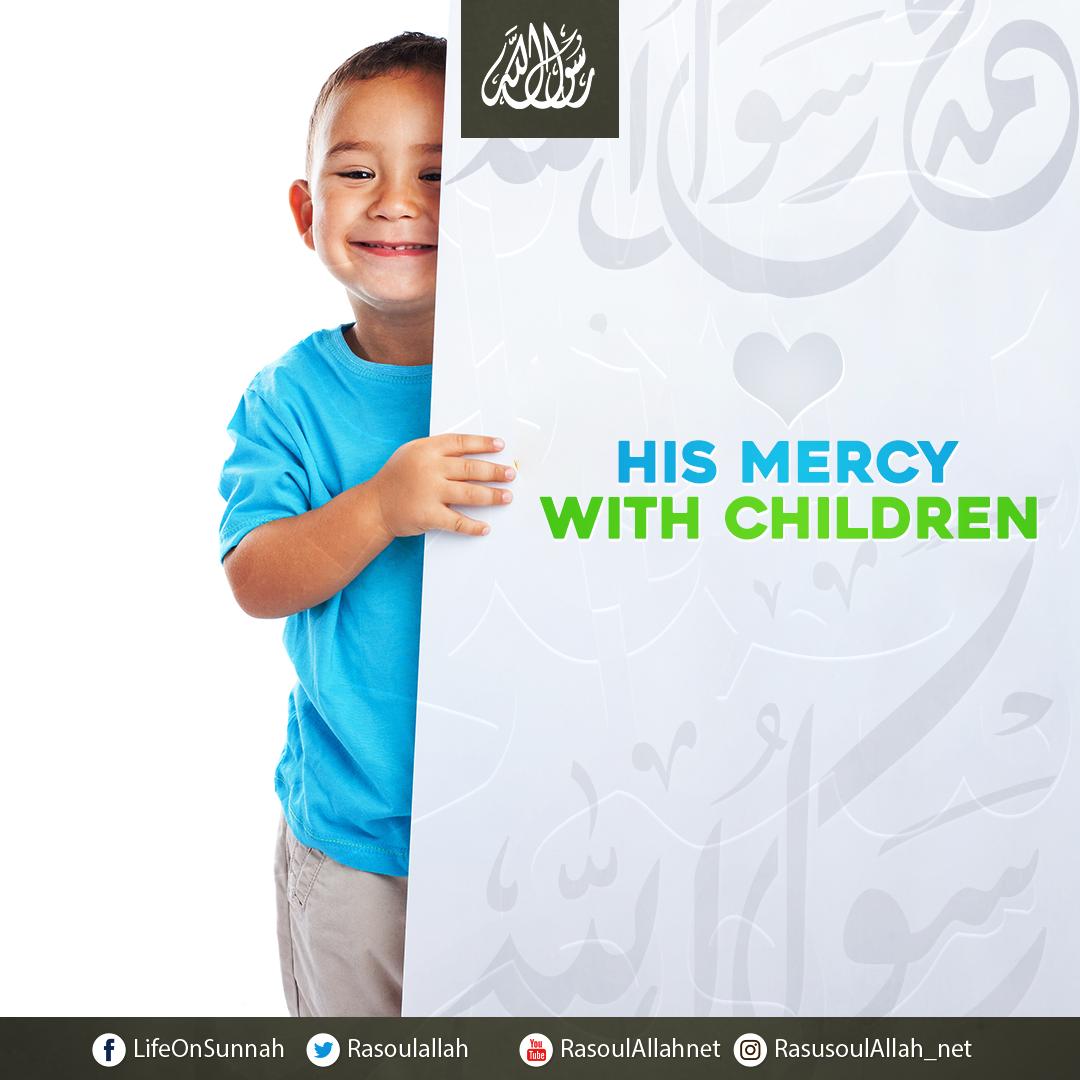 His mercy with children